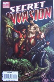 Secret Invasion #4 McNiven Retail Incentive Variant 1:25 Marvel comic book